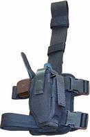 Кобура Медан набедренная синтетическая с поясом для пистолетов Форт 17