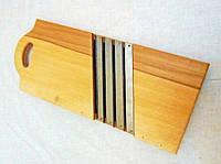 Шинковка деревянная на 4 ножа