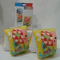 Детские надувные нарукавники для плавания «Рыбки» | «Intex»