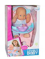 """Пупс на стульчике """"Lovely baby"""" WZJ017-2"""
