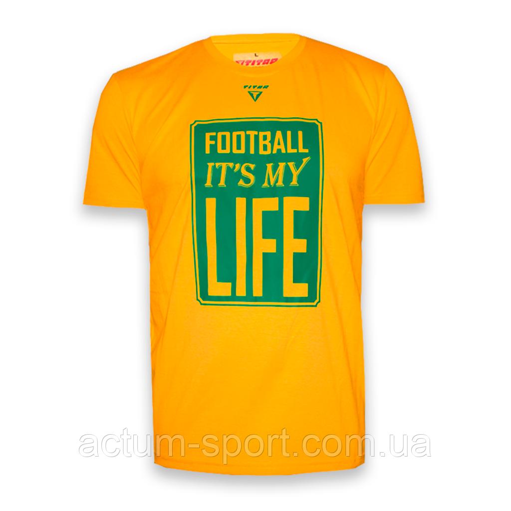 Футболка мужская с принтом FIMLife Titar