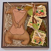 """Подарочный набор """"Кот с орехами"""" (игрушка, набор орехов) Необычный подарок девушке, ребёнку, детям, мужчине"""