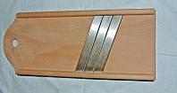 Шинковка деревянная на 3 ножа