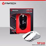 Мышь игровая беспроводная FANTECH WG8 LEBLANC (2000 DPI), White, Wireless, фото 3