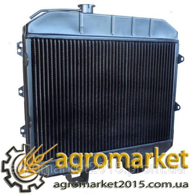 Радиатор УАЗ 3741-1301010 (3-х рядный) латунь