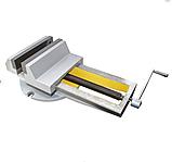 Тиски станочные пневматические  поворотные 160мм 7201-0009-02, фото 2