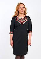 Платье с вышивкой, большие размеры, арт. 4182