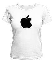 "Футболка женская ""Apple"" XS/S/M/L/XL/XXL"