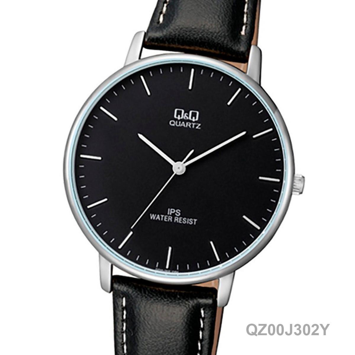 Часы Q&Q QZ00J302Y оригинал классические наручные часы