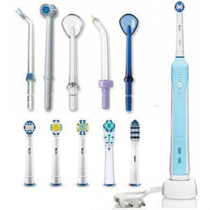 Запчасти для зубных электрощеток, ирригаторов