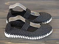 Слипоны Allshoes CLYT6119-1 BLACK 36 23,5 см, фото 1