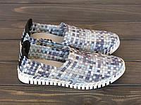 Женские слипоны синие Allshoes, фото 1