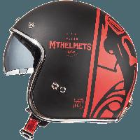 Открытый шлем MT Le-Mans 2 SV Divenire Matt Black Red
