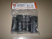 Патрубок радиатора ЮМЗ, Д-65 (к-т 4шт) СТАНДАРТ  DK-1348-01