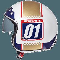 Відкритий шолом MT Le-Mans 2 SV Numberplate, фото 1