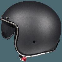 Открытый шлем MT Le-Mans 2 SV Solid Matt Black, фото 1