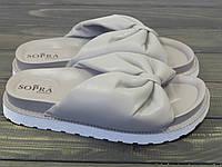 Шлепанцы на толстой подошве Sopra PC-03 GRAY 36 23 см, фото 1