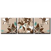 Модульная картина на холсте Lily (триптих). Акция: Бесплатная доставка!