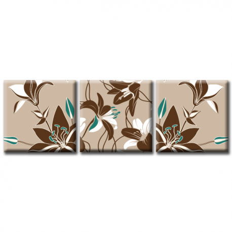 Модульная картина на холсте Lily (триптих). Акция: Бесплатная доставка!, фото 2