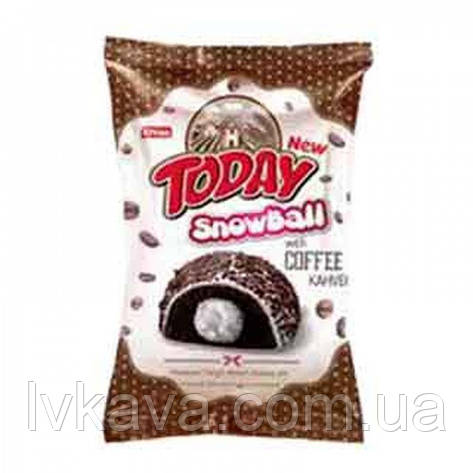 Кекс Snowball Coffee с ванильным кремом Today , 50 гр, фото 2