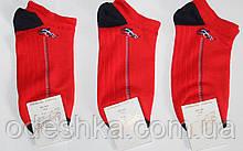 """Шкарпетки чоловічі спортивні """"Елегант"""" сітка червоний"""