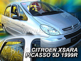 Дефлекторы окон (ветровики) Citroen Xsara Picasso 5D 1999-> 4шт (Heko)
