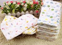 Детские муслиновые носовые платочки для девочки