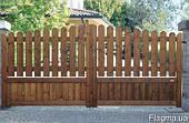 Ворота с дерева,деревянные ворота