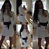 Вязаное платье дг109