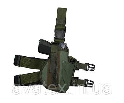 Тактическая кобура на бедро для Макарова. АПС