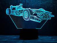 """3D светильник ночник """" Автомобиль 32  """" 3DTOYSLAMP, фото 1"""