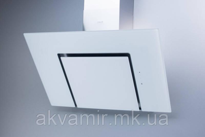 Витяжка для кухні Fabiano Adria 90 White (біле скло) похила