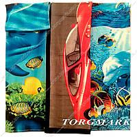Полотенце пляжное велюр-махра 100% хлопок 70 х 140