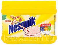 Какао напій Nesquik strawberry, полуниця 300 г Швейцарія