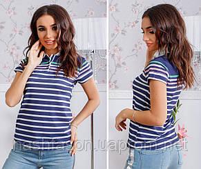 Женская футболка поло 192