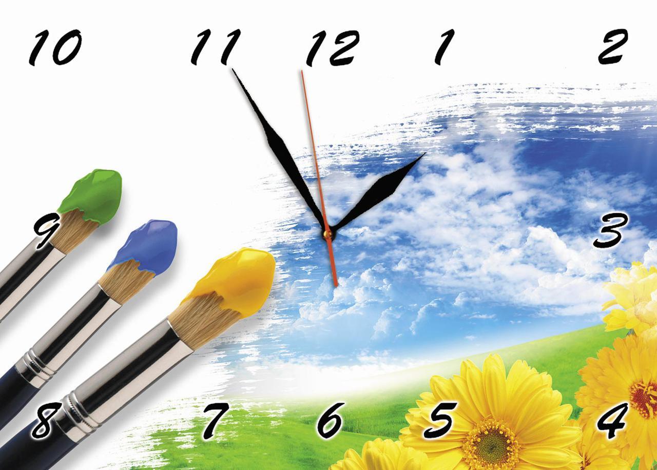 Часы настенные стеклянные Т-Ок 002 SG-25035034