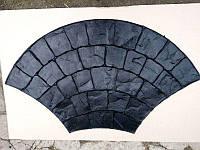 """Полиуретановый штамп для бетона """"Большой Веер"""", для дорожек и пола"""