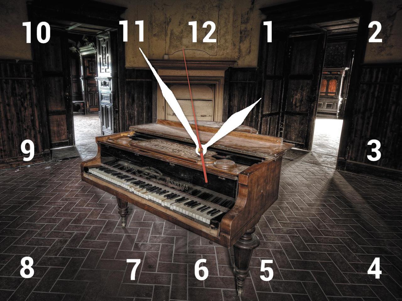 Часы настенные стеклянные Т-Ок 007 SG-30040022