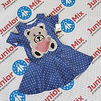Детское летнее котоновое платье для девочек Angelina