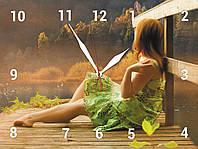 Часы настенные стеклянные Т-Ок 007 SG-30040023