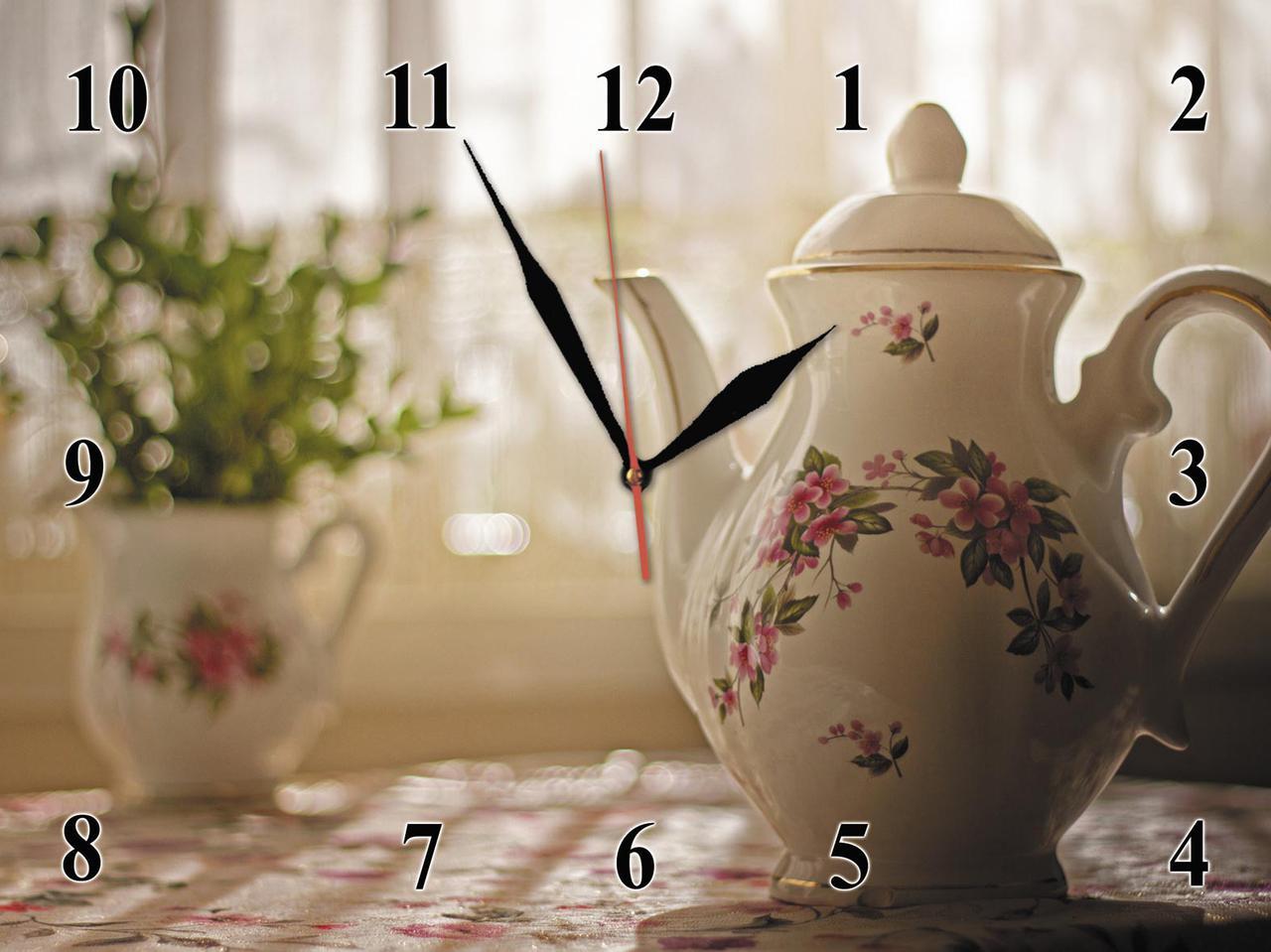 Часы настенные стеклянные Т-Ок 007 SG-30040024