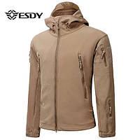 Тактическая куртка Softshell Esdy Shark Skin. Оригинал. Кайот.