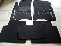 Ворсовые коврики в салон CHEVROLET Lacetti (Серый)