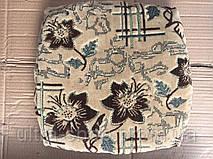 Чехлы на табуретки, упаковка 4шт + поролон  №93