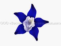 Цветы из мастики - Орхидея синяя - Ø90 мм, фото 1