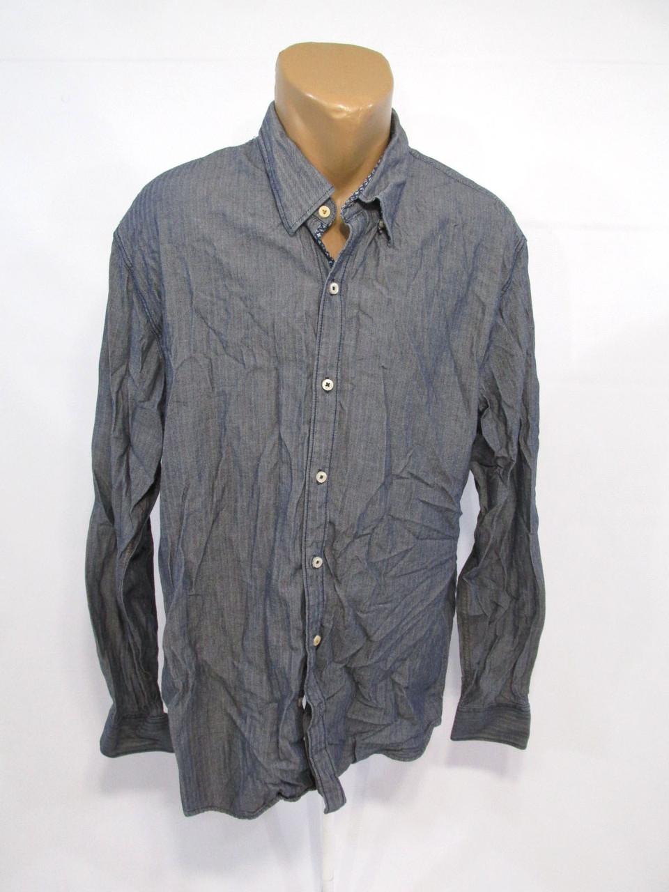 Рубашка Vanguard, XXXL, cotton, Качество! Серая, Как Новая!
