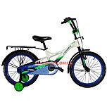 Детский велосипед Crosser Street 18 дюймов белый
