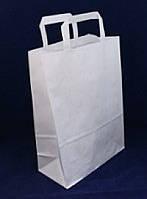 Бумажные пакеты белый  220*310*110