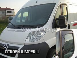 Дефлектори вікон (вітровики) CITROEN JUMPER III - / PEUGEOT BOXER/Fiat Ducato 2D 08.2006 R →(HEKO)