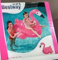 Фламинго  надувная игрушка-плот для детей